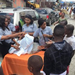 War Against Malaria; ICS Outsourcing Distributes Mosquito Nets in Makoko