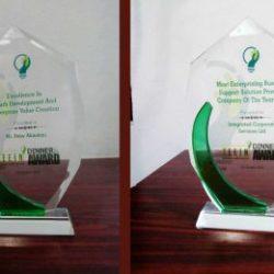 Dr. Peter Akindeju & ICS Outsourcing Ltd Bags prestigious Award